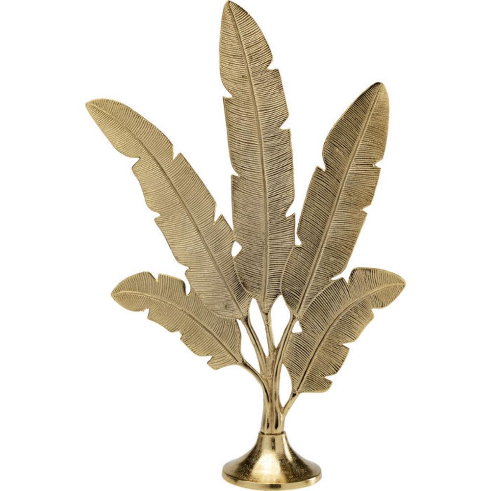 Επιτραπέζιο Διακοσμητικό Φτερά Χρυσό Μεταλλικό 48x73x17 εκ.