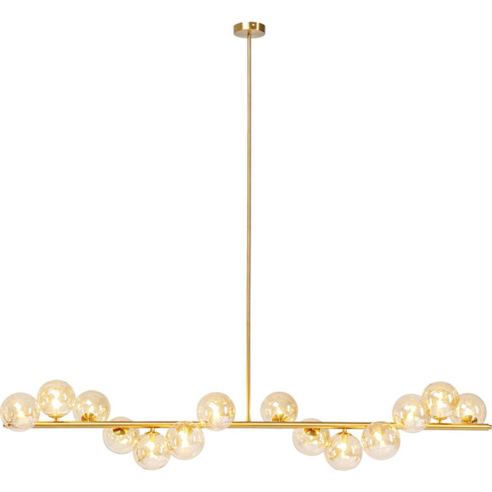 Φωτιστικό Οροφής Scala Χρυσό 150x140x27 εκ.