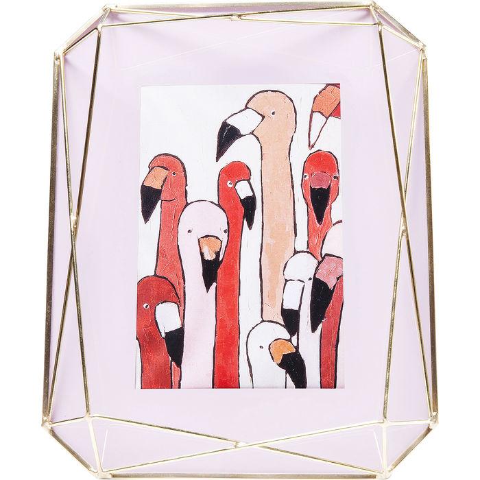 Κορνίζα Art Pastel Powder Μέταλλο-Γυαλί 10x15cm