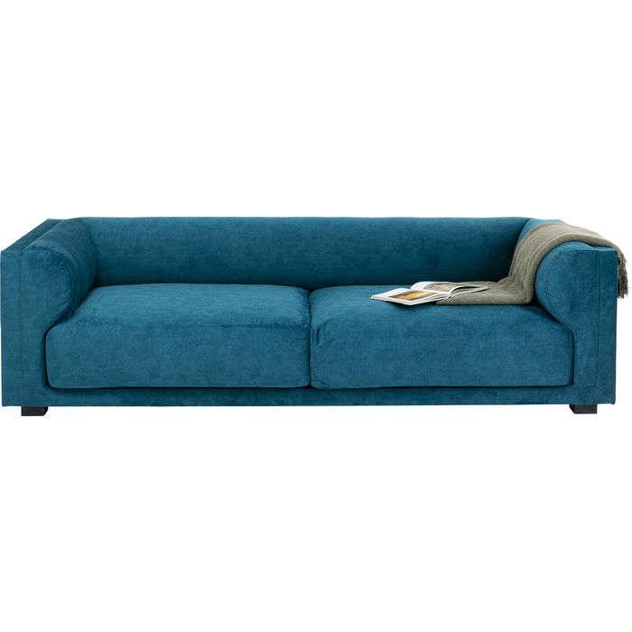 Τριθέσιος Καναπές Brianza Μπλε 237x92 εκ.