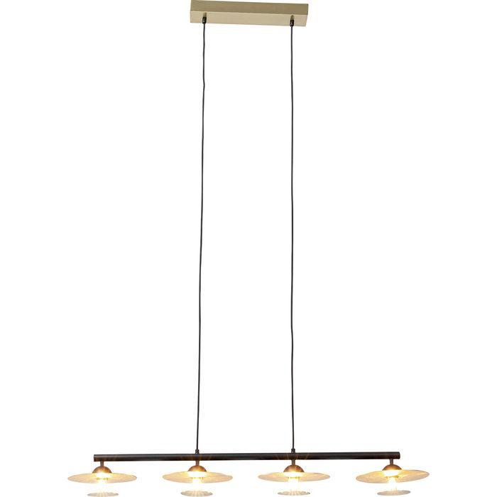Φωτιστικό Οροφής Quattro Χρυσό