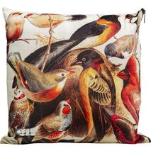 Cushion Birds Life Multicolored 45x45cm