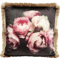 Cushion Blush Roses Multicoloreed 45x45 cm
