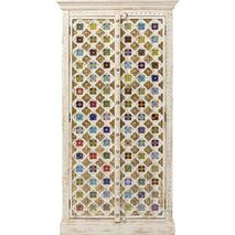 Cabinet Bazar Wooden Multicolored 180x90x40cm