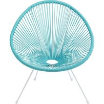 Armchair Acapulco Blue-Turquoise