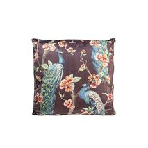 Cushion Flower Dream Peacock Black-Multicolored 45x45cm