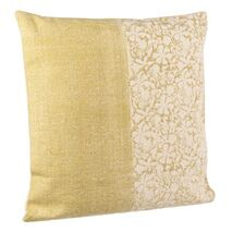 Cushion Larissa Beige-Yellow 60x60cm