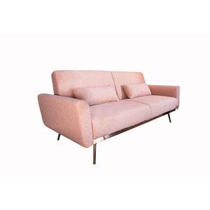 Καναπές-Κρεβάτι Bellezza Ροζ