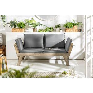 Καναπές Διθέσιος Modular Καφέ-Γκρι
