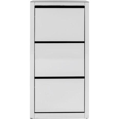 Παπουτσοθήκη Luxury Καθρέφτης 55x30x124 εκ.