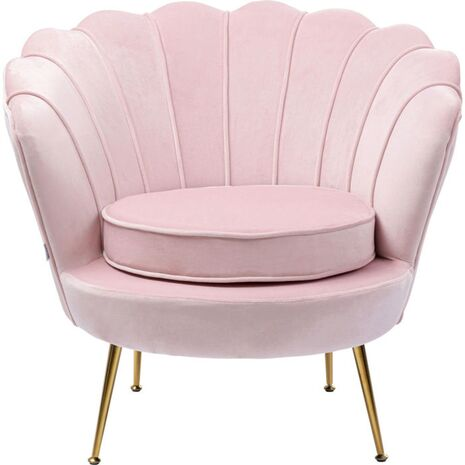 Armchair Water Lily Light Pink 85x78x78cm