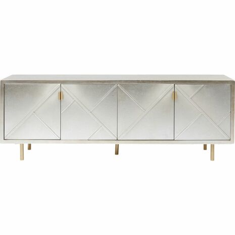 Sideboard Venice Gold-Silver 64x180x45cm