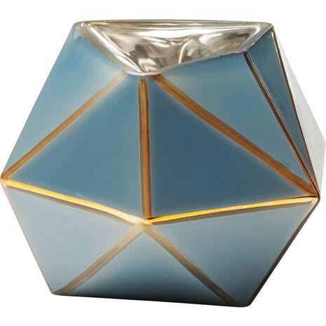 Βάζο Art Pastel Γαλάζιο Γυάλινο 14 εκ.